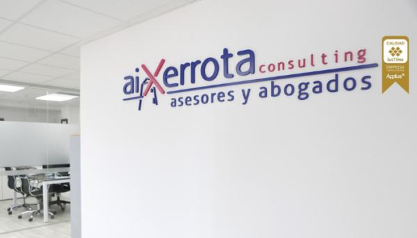 Aixerrota consulting, reconocido como uno de los mejores despachos de Bilbao.